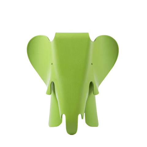 Eames Style Green Plastic Trendy Elephant - directhomeliving