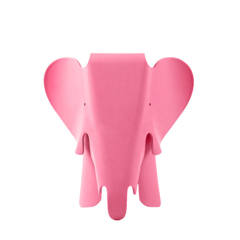 Eames Style Pink Plastic Trendy Elephant - directhomeliving