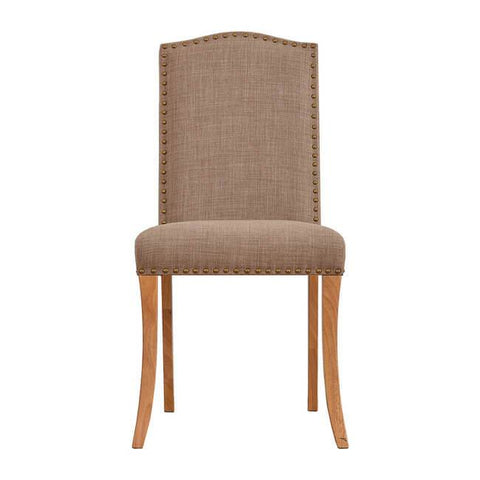 Evesham Beige Dining Chair (Pack of 2) - directhomeliving