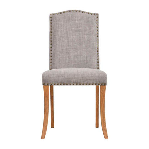 Evesham Light Grey Dining Chair (Pack of 2) - directhomeliving