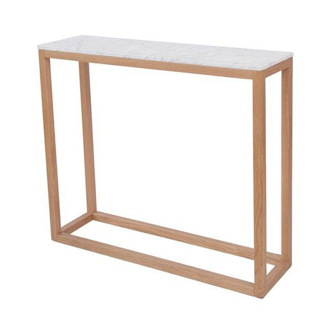 Harlow Marble Console Table - directhomeliving