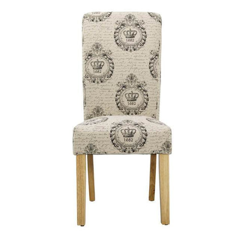 Kensington Cream Dining Chair (Pack of 2) - directhomeliving