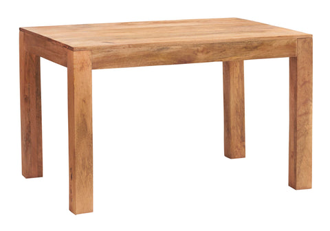 Toko Handcrafted Light Mango Small Dining Table - directhomeliving