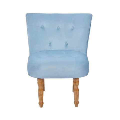 Lydia Duck Egg Blue Chair - directhomeliving