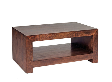 Toko Handcrafted Dark Mango Small Coffee Table - directhomeliving