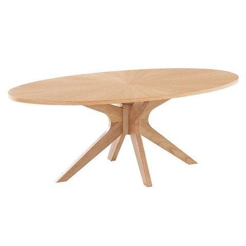 Malmo White Oak Coffee Table - directhomeliving