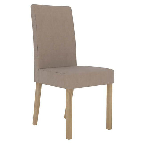 Melodie Beige Chair (Pack of 2) - directhomeliving
