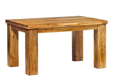 Metro Handcrafted Robust Acacia Wood Dining Table - directhomeliving