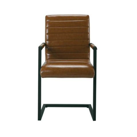 Montana Carver Brown Dining Chair (Pack of 2) - directhomeliving