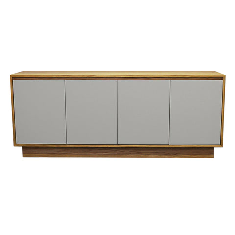 Oxford Grey Door Oak Sideboard - directhomeliving
