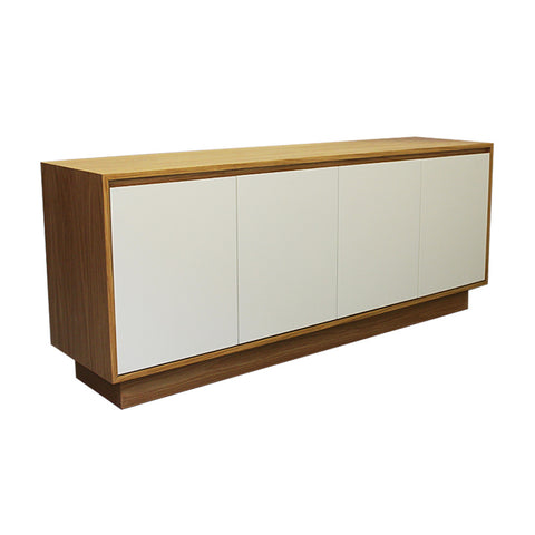 Oxford Vanilla Door Oak Sideboard - directhomeliving