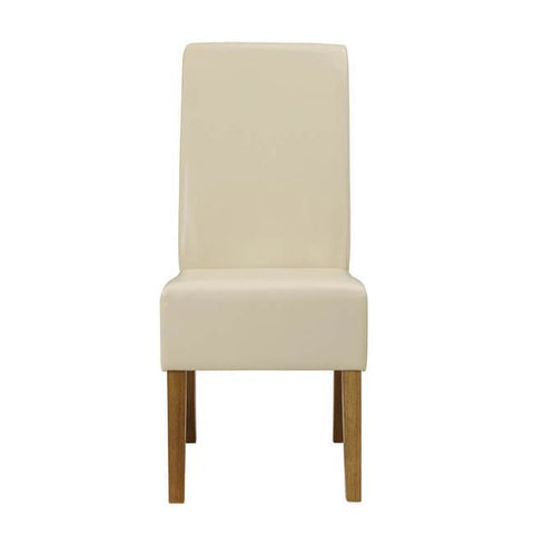 Padstow Cream Chair ( Pack of 2) - directhomeliving