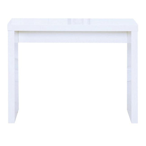 Puro White Console Table - directhomeliving