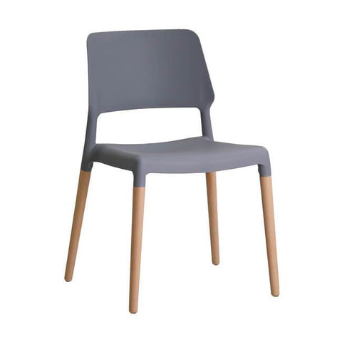 Riva Grey Chair (Pack of 2) - directhomeliving