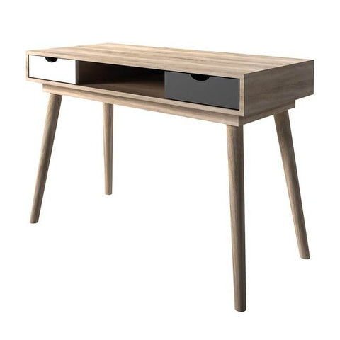 Scandi Grey Computer Desk - directhomeliving