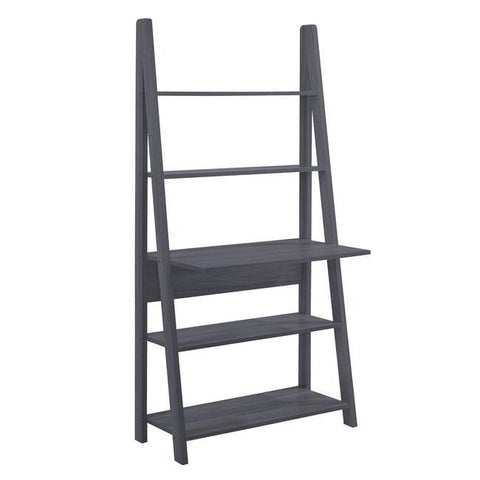 Tiva Black Ladder Desk - directhomeliving