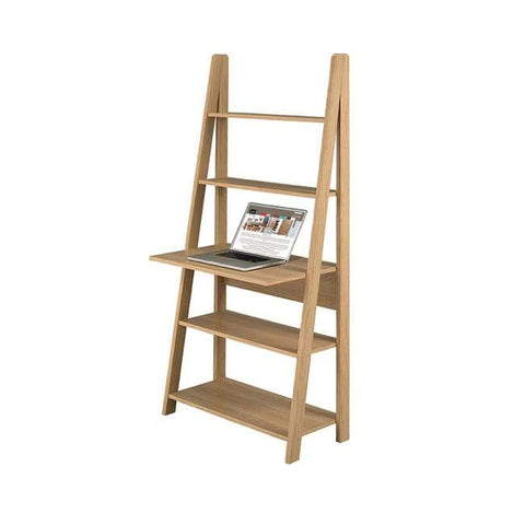 Tiva Oak Ladder Desk - directhomeliving