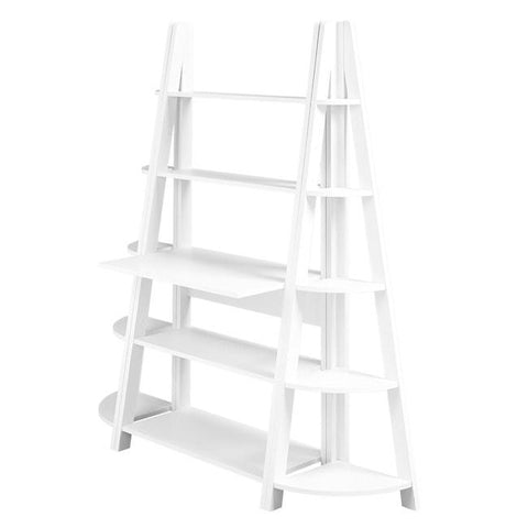 Tiva White Ladder Desk - directhomeliving