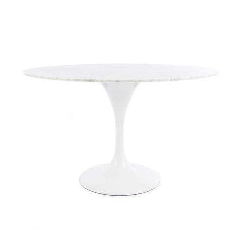 Tulip 120cm Marble Dining Table - directhomeliving