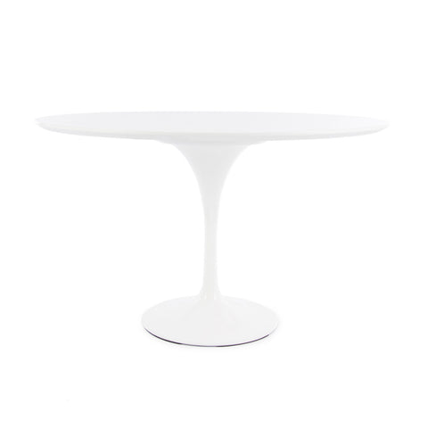 Tulip 120cm White Dining Table - directhomeliving