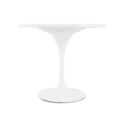 Tulip 90cm White Dining Table - directhomeliving