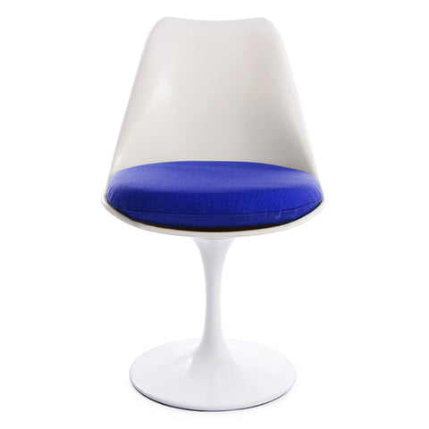 Tulip Blue Seat Chair - directhomeliving