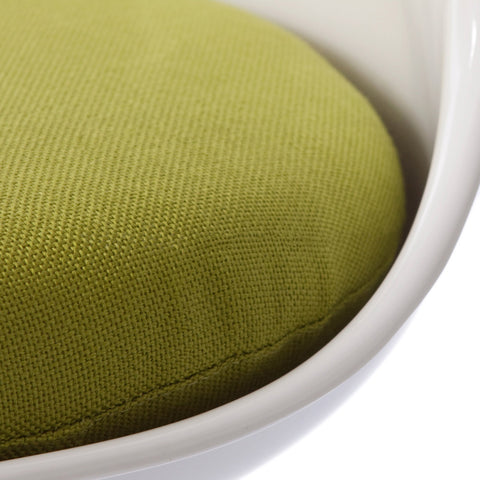 Tulip Green Seat Chair - directhomeliving