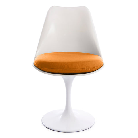 Tulip Orange Seat Chair - directhomeliving