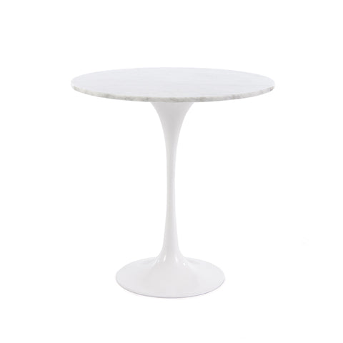 Tulip 50cm Marble Side Table - directhomeliving