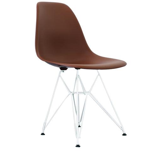 Enjoyable Charles Eames Style Coffee Plastic Retro Dsr Side Chair With Onthecornerstone Fun Painted Chair Ideas Images Onthecornerstoneorg