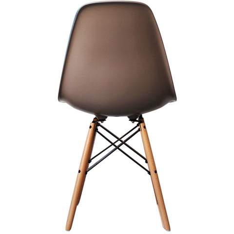 CHARLES EAMES Style Slate Plastic Retro DSW Side Chair - directhomeliving