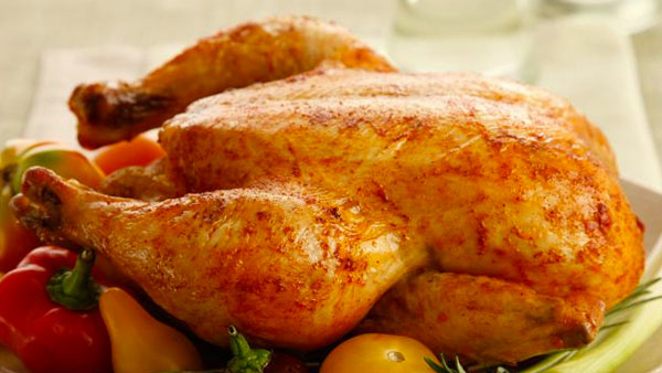 Honey BBQ Roasted Chicken