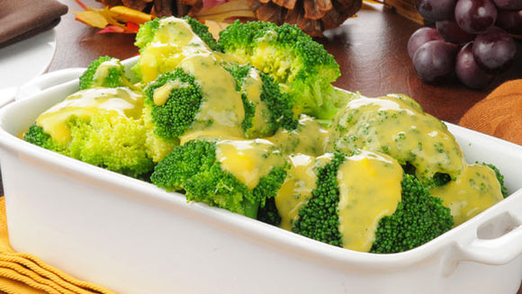 Broccoli with Cheese Sauce 16oz