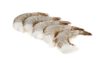 Raw White Shrimp Peeled