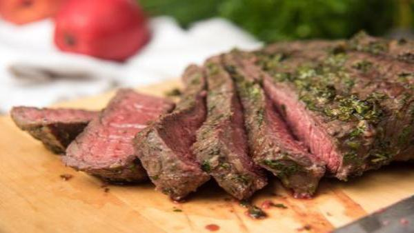 Garlic-Butter London Broil