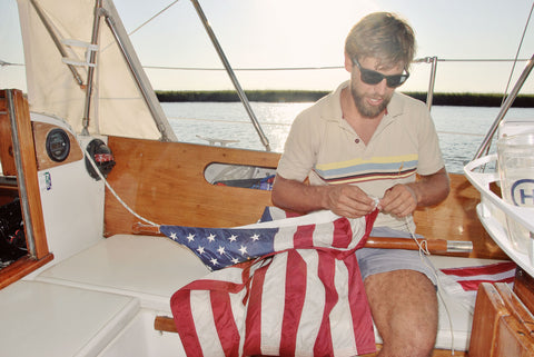 Allegiance Flag Supply Sailing