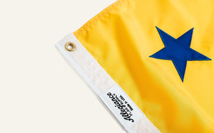 Ca Bear Flag Yellow and Blue