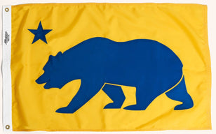 California State Flag, Allegiance Flag Supply, Heirloom Quality Flags