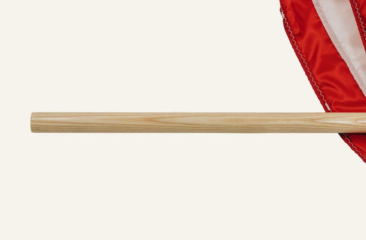 5' Vermont White Ash Flagpole (For 3' x 5' Flags)