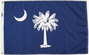 Palmetto Flag, South Carolina State Flag, Allegiance Flag Supply, High Quality Flags