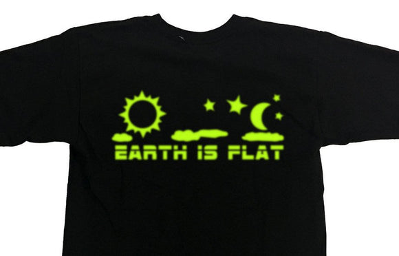 Flat Earth T Shirts