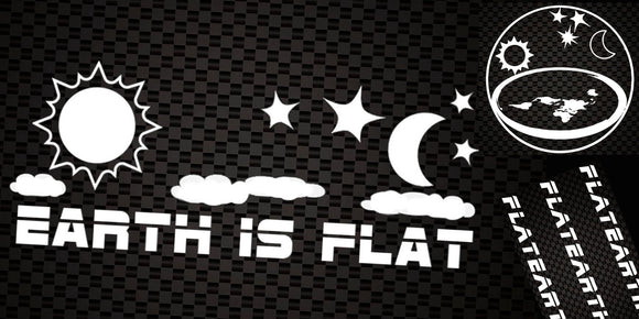 Flat Earth Decals