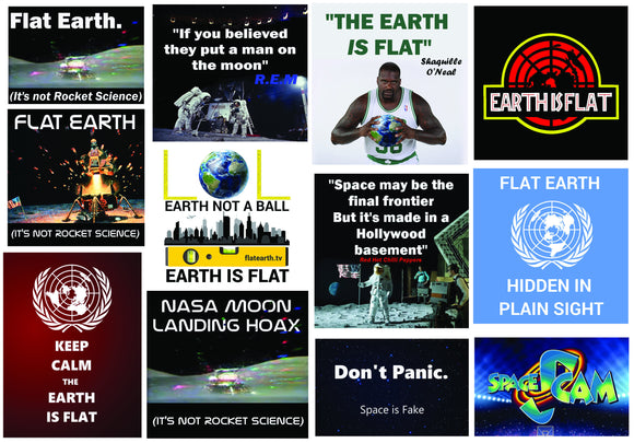 Flat Earth Meme Collection 1 (Flat earth conspiracy)