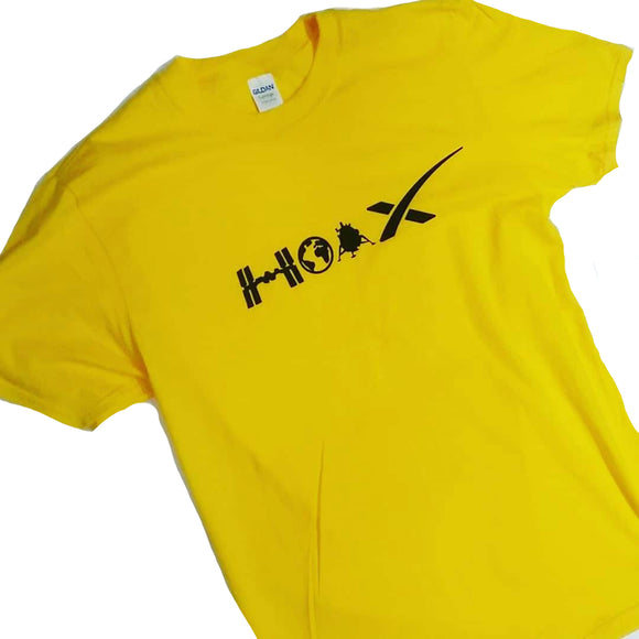 Flat Earth HOAX T shirt ( Nasa lies / Flat Earth )