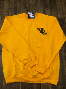 Yellow Crew Neck