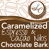 Caramelized Cacao Nibs & Espresso Chocolate Bark