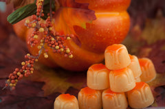 Pumpkin Spice White Chocolate Bon Bon