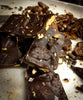 Roasted Pecan Cherry Chocolate Bark with Sea Salt