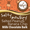 Salty Monkey Milk Chocolate Bark