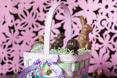 Chocolate Easter Basket - Large